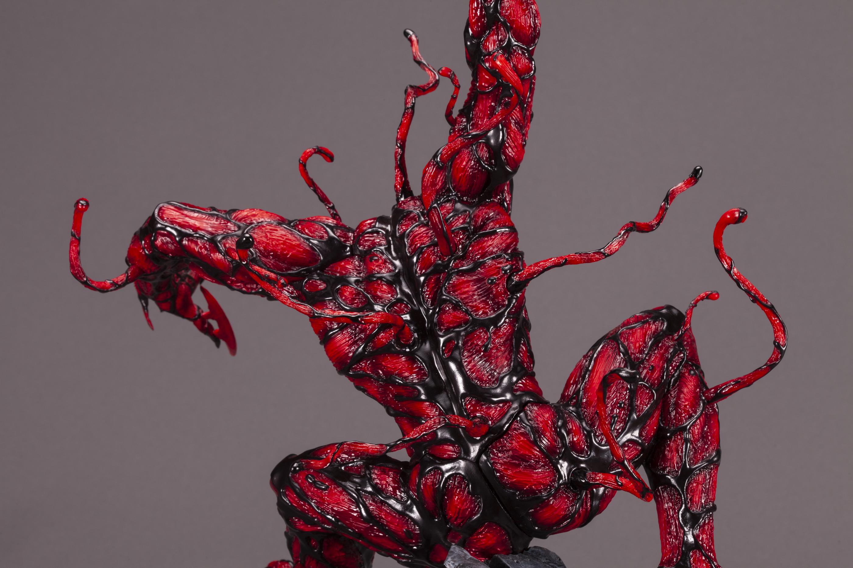 MAXIMUM CARNAGE -  FIGURINE DE CARNAGE (60 CM) -  FINE ART STATUE
