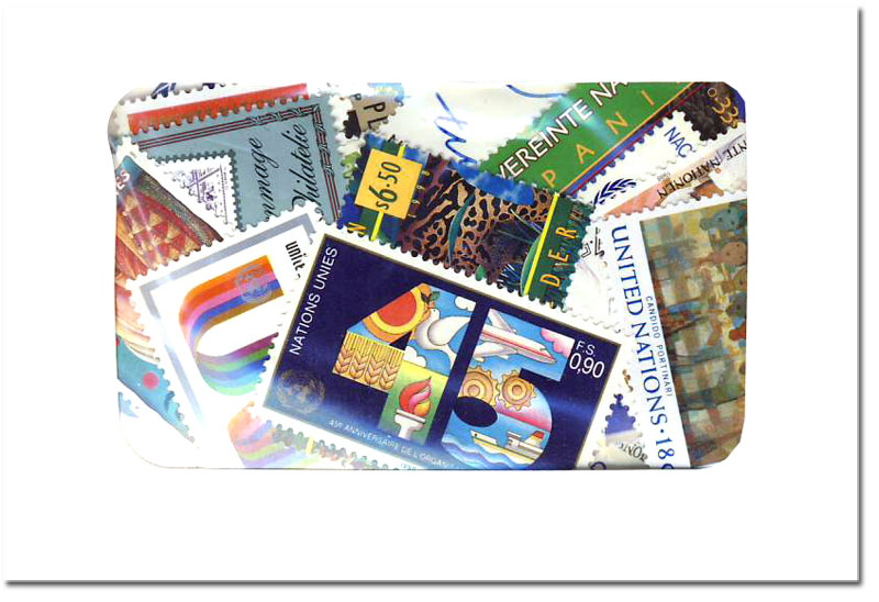 NATIONS UNIES -  300 DIFFÉRENTS TIMBRES - NATIONS UNIES NEUFS