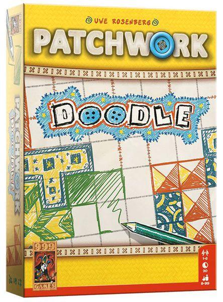 PATCHWORK DOODLE (ANGLAIS)