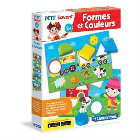 PETIT SAVANT -  FORMES ET COULEURS (FRANÇAIS)