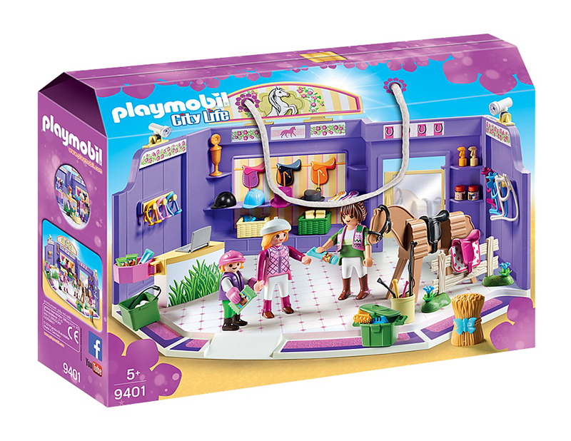 PLAYMOBIL -  BOUTIQUE D'EQUITATION 9401