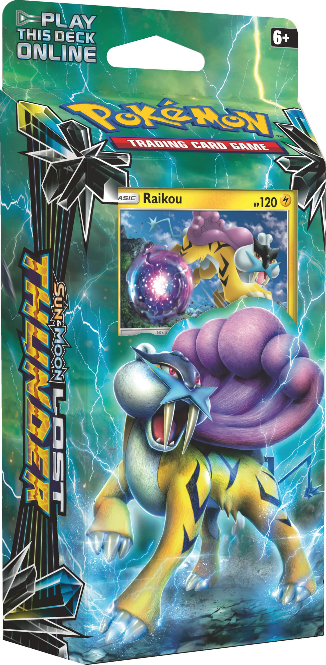 Pokémon Soleil Et Lune Lost Thunder Paquet Thématique Storm Caller 60