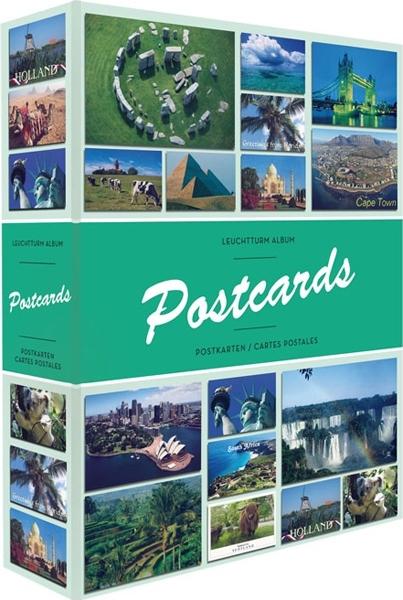 POSTCARDS - ALBUM POSTCARDS POUR 200 CARTES POSTALES ET PHOTOS / ACCESSOIRES / ALBUMS DE RANGEMENT