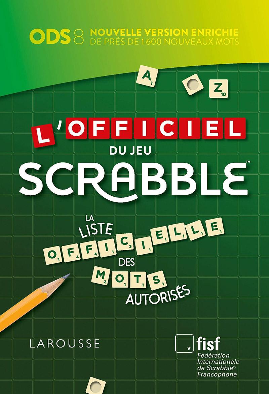 SCRABBLE -  L'OFFICIEL DU JEU SCRABBLE