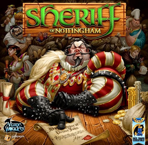 Sheriff Of Nottingham Jeu De Base Anglais Jeux De Cartes Jeux De Bluff