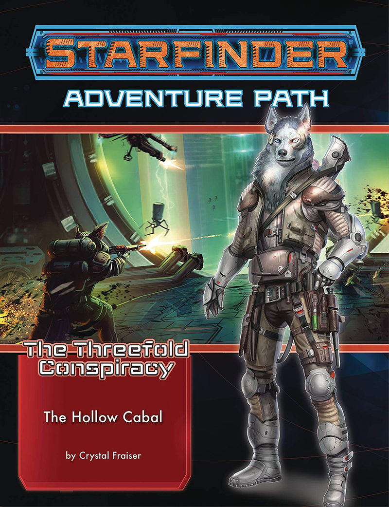 STARFINDER -  THE HOLLOW CABAL (ANGLAIS) -  THE THREEFOLD CONSPIRACY 4
