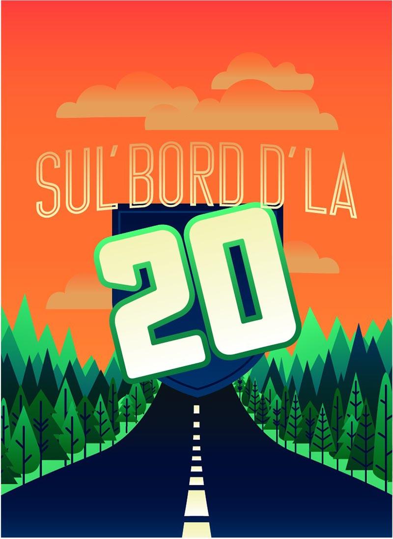 SUL' BORD D'LA 20 (FRANÇAIS)