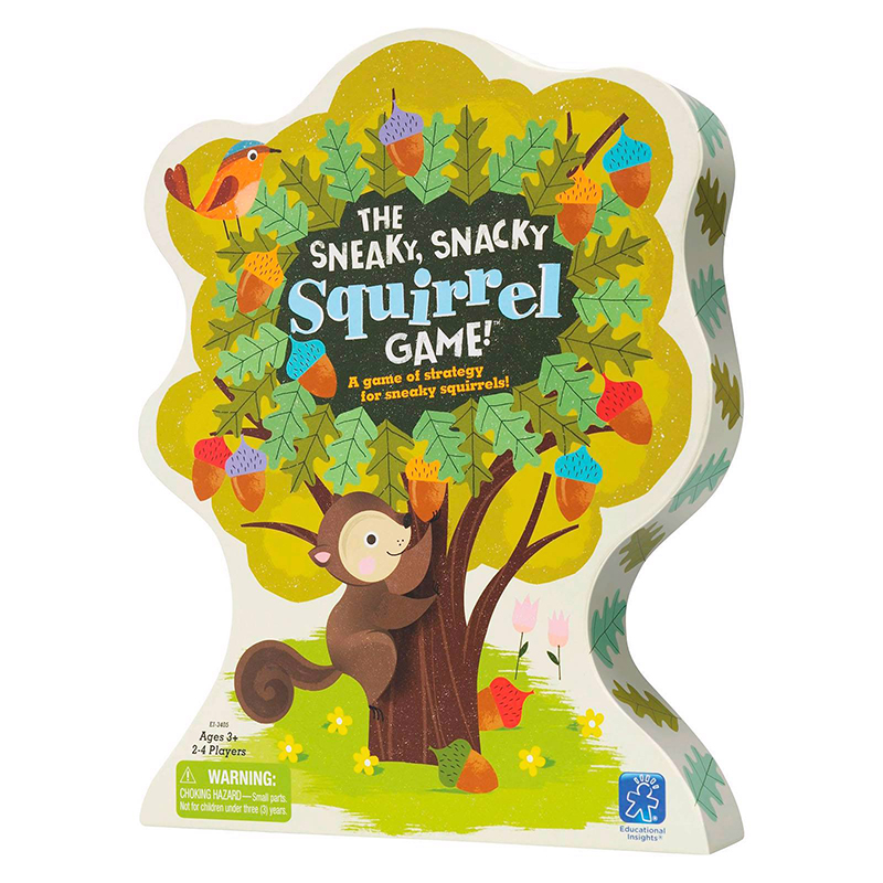 THE SNEAKY, SNACKY SQUIRREL GAME! (ANGLAIS)