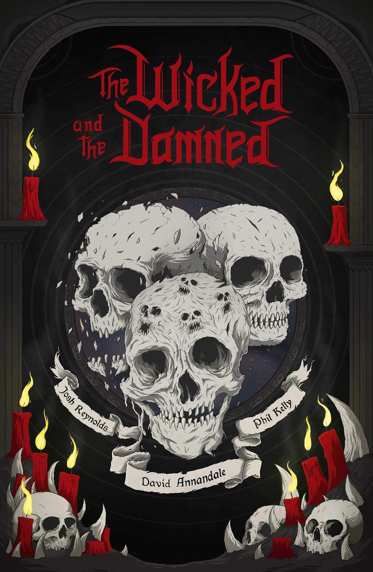 THE WICKED AND THE DAMNED (ANGLAIS)