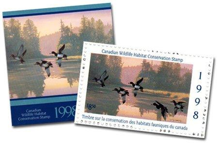 TIMBRE FAUNIQUE -  TIMBRE FAUNIQUE DU CANADA 1998 14