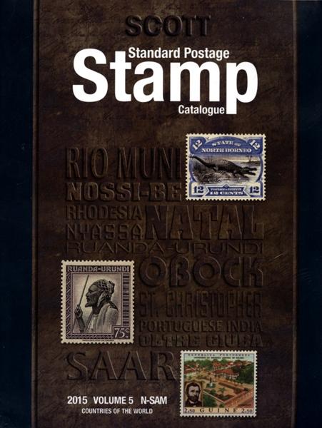 TIMBRES DU MONDE -  2015 STANDARD POSTAGE STAMP CATALOGUE (N-SAM) 05