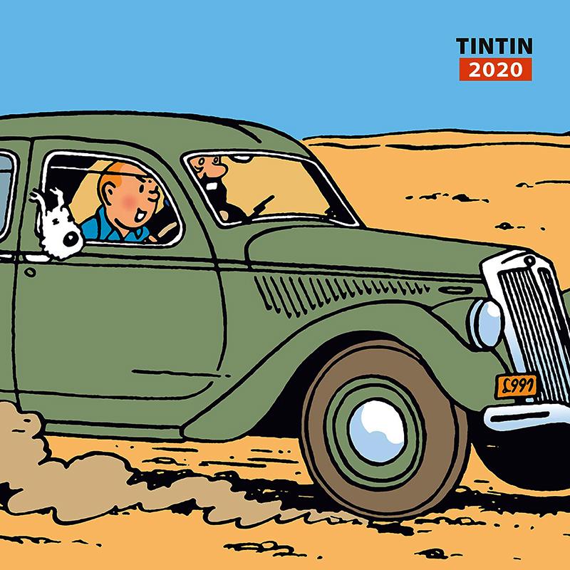 Calendrier De Lavent Pokemon 2020.Tintin Tintin Calendrier Tintin 2020 12 Mois