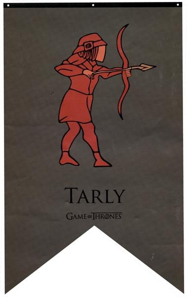 TRÔNE DE FER, LE -  BANNIÈRE DE TARLY