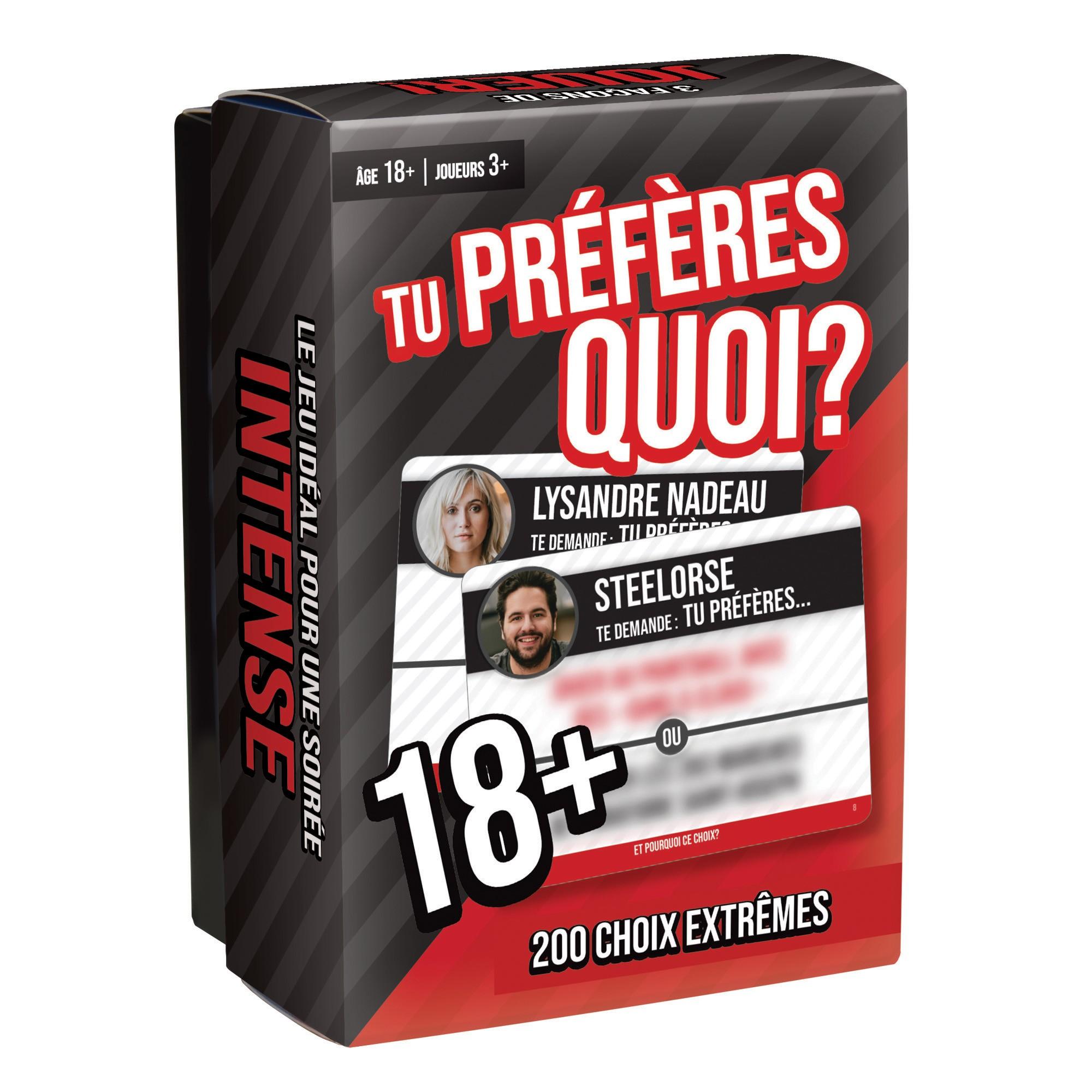 TU PRÉFÈRES QUOI? -  ÉDITION 18+ (FRANÇAIS)