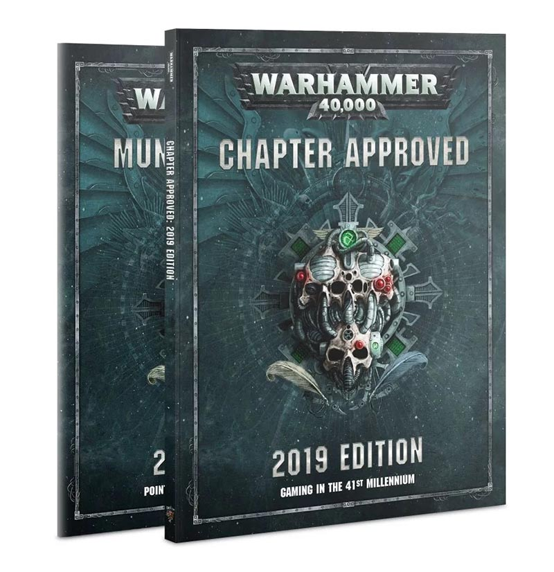 WARHAMMER 40K -  CHAPTER APPROVED (ANGLAIS) -  2019 EDITION