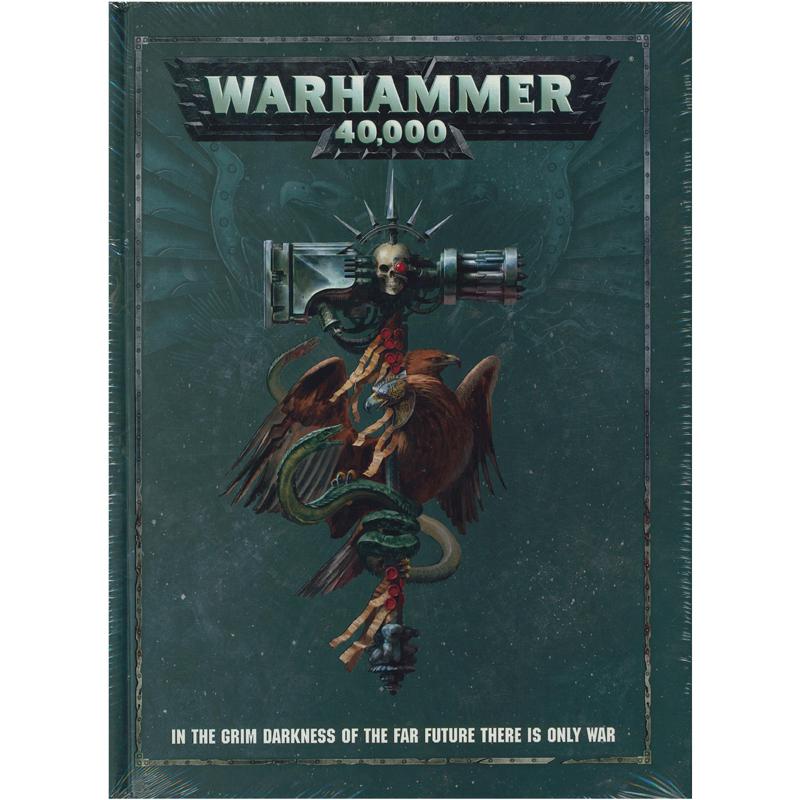 Warhammer 40k Livre De Regles 8e Edition Anglais