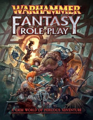 Warhammer Fantasy Role Play Livre De Regles Couverture Rigide Anglais