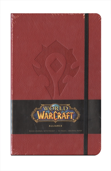 WORLD OF WARCRAFT -  ALLIANCE - CARNET DE NOTES (192 PAGES)