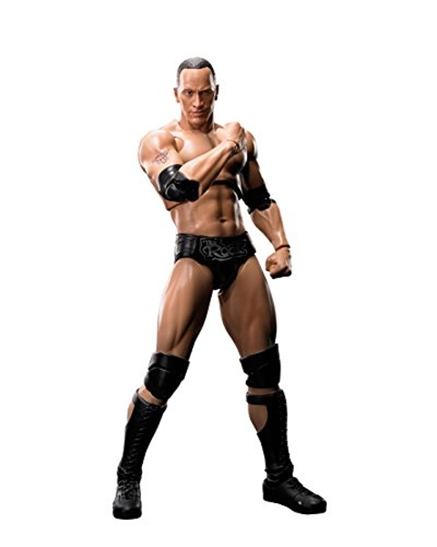 WWE -  FIGURINE DE THE ROCK (15CM)