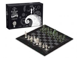 ÉCHECS -  TIM BURTON'S THE NIGHTMARE BEFORE CHRISTMAS - 25 YEARS COLLECTOR SET