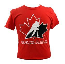 ÉQUIPE CANADA -  T-SHIRT ROUGE