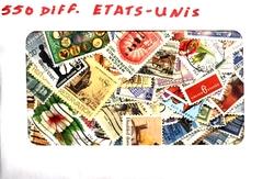 ÉTATS-UNIS -  550 DIFFÉRENTS TIMBRES - ÉTATS-UNIS