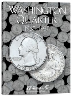 ÉTATS-UNIS -  LIVRET POUR 25 CENTS AMÉRICAINS WASHINGTON (VOL.3 : 1965-1987) 03