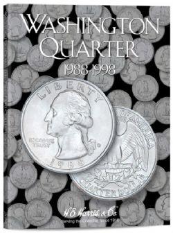 ÉTATS-UNIS -  LIVRET POUR 25 CENTS AMÉRICAINS WASHINGTON (VOL.4 : 1988-1998) 04
