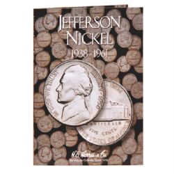 ÉTATS-UNIS -  LIVRET POUR 5 CENTS AMÉRICAINS JEFFERSON (VOL.1 : 1938-1961) 01