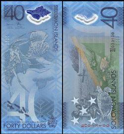 ÎLES SALOMON -  40 DOLLARS 2018 (UNC)