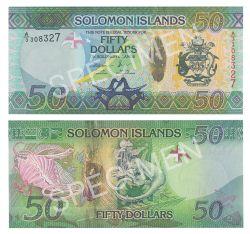 ÎLES SALOMON -  50 DOLLARS 2013 (UNC)