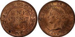 1 CENT -  1 CENT 1888 (MS-62) -  PIÈCES DU CANADA 1888