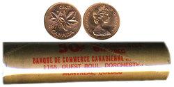 1 CENT -  ROULEAU ORIGINAL DE 1 CENT 1970 -  PIÈCES DU CANADA 1970