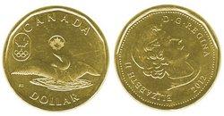 1 DOLLAR -  1 DOLLAR 2012 - PORTE-BONHEUR - BRILLANT INCIRCULE (BU) -  PIÈCES DU CANADA 2012 05