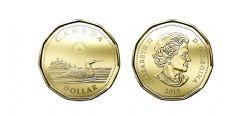 1 DOLLAR -  1 DOLLAR 2019 - BRILLANT INCIRCULE (BU) -  PIÈCES DU CANADA 2019