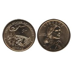 1 DOLLAR AMÉRINDIEN -  1 DOLLAR 2015