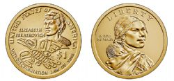 1 DOLLAR AMÉRINDIEN -  1 DOLLAR 2020