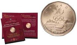 1 DOLLAR -  PORTE-BONHEUR - PIÈCE PREMIER JOUR OFFICIELLE -  PIÈCES DU CANADA 2004