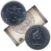 1 DOLLAR -  ROULEAU ORIGINAL DE 1 DOLLAR 1984 - JACQUES CARTIER -  PIÈCES DU CANADA 1984