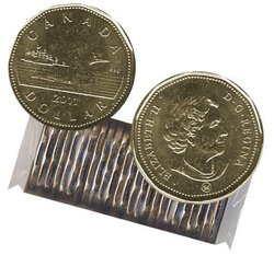1 DOLLAR -  ROULEAU ORIGINAL DE 1 DOLLAR 2011