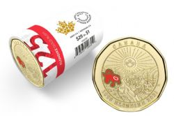 1 DOLLAR -  ROULEAU ORIGINAL DE 1 DOLLAR 2021