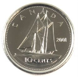 10 CENTS -  10 CENTS 2001