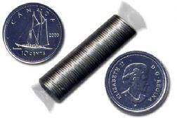10 CENTS -  ROULEAU ORIGINAL DE 10 CENTS 2003