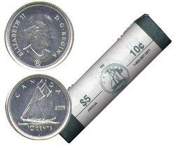 10 CENTS -  ROULEAU ORIGINAL DE 10 CENTS 2006