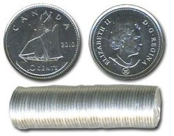 10 CENTS -  ROULEAU ORIGINAL DE 10 CENTS 2010