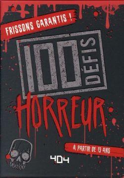 100 DÉFIS HORREUR (FRANCAIS)
