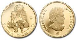 100 DOLLARS -  10EME ANNIVERSAIRE DU NUNAVUT -  PIÈCES DU CANADA 2009 34
