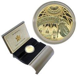 100 DOLLARS -  125E ANNIVERSSAIRE DE LA BIBLIOTHEQUE DU PARLEMENT -  PIÈCES DU CANADA 2001 26