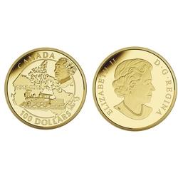 100 DOLLARS -  200E ANNIVERSAIRE DE NAISSANCE DE SIR JOHN A. MACDONALD -  PIÈCES DU CANADA 2015 40