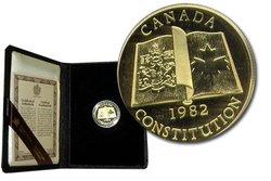 100 DOLLARS -  CONSTITUTION CANADIENNE -  PIÈCES DU CANADA 1982 07